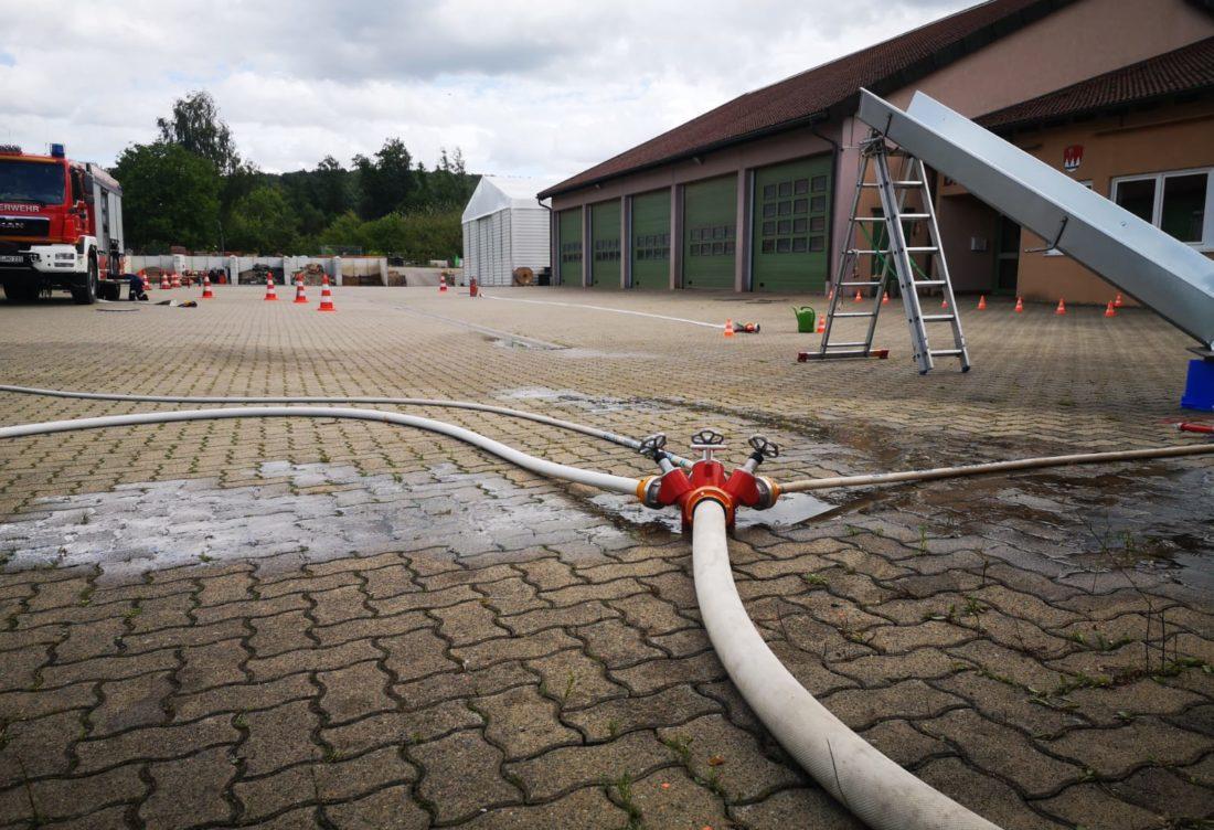 Spannender Tag bei der Feuerwehr
