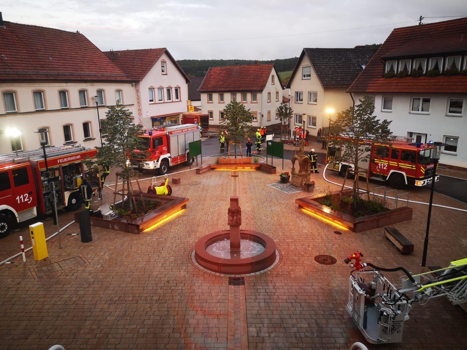 Übung Brandschutzwoche 2019