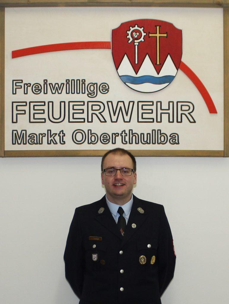 Kommandant - Feuerwehr Oberthulba - Lukas Zwecker