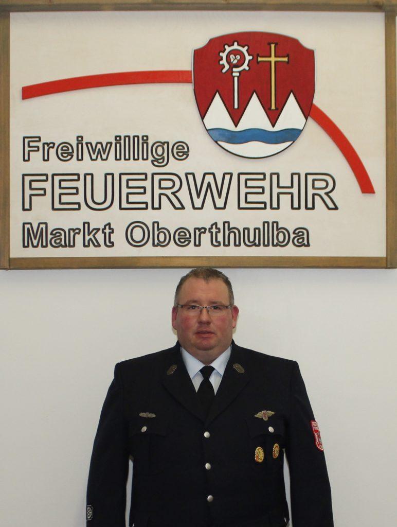 Stv. Kommandant - Feuerwehr Oberthulba - Matthias Zwecker