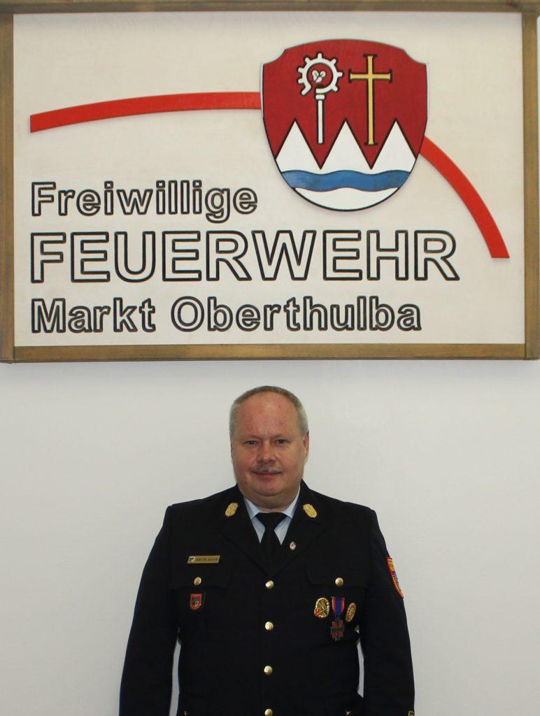 Zweiter Vorstand - Feuerwehr Oberthulba - Thomas Eyrich