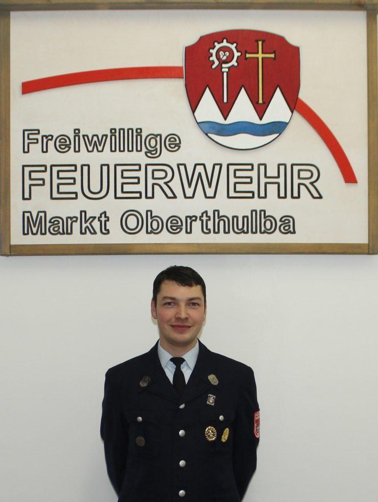 Gruppenführer - Feuerwehr Oberthulba - Fabian Schmitt