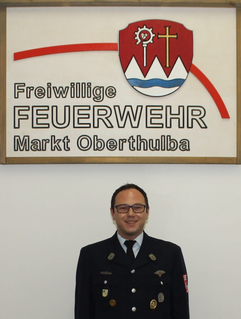Gruppenführer - Feuerwehr Oberthulba - Sebastian Sens