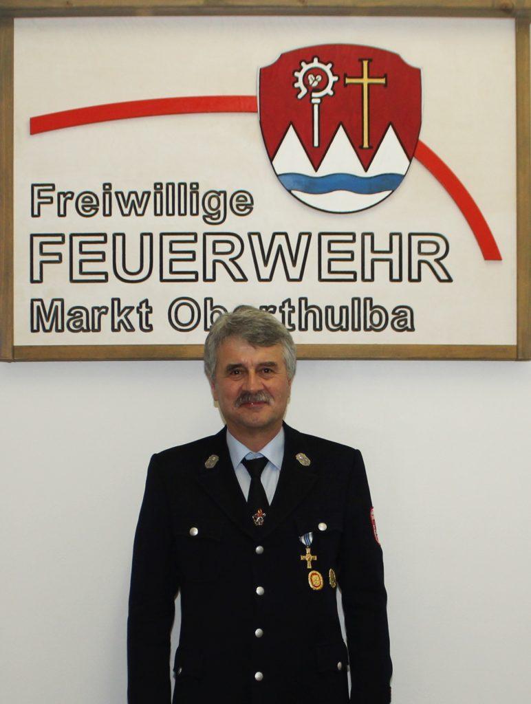 Gruppenführer - Feuerwehr Oberthulba - Klaus Blum