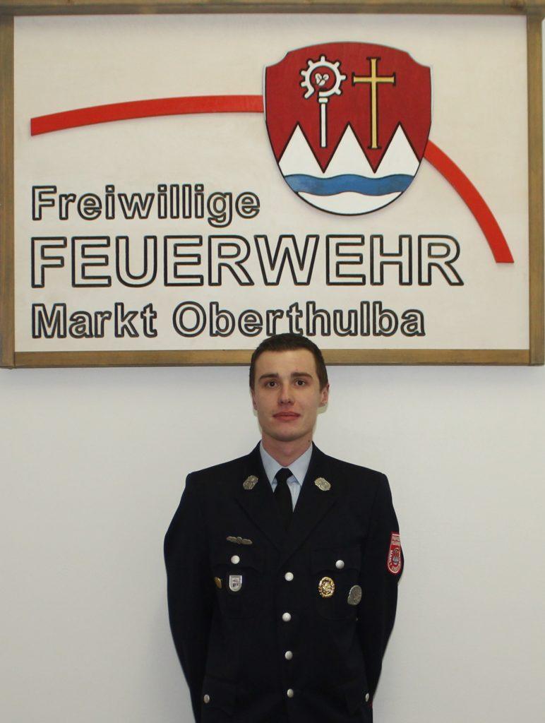 Gruppenführer - Feuerwehr Oberthulba - Jan Stürzenberger
