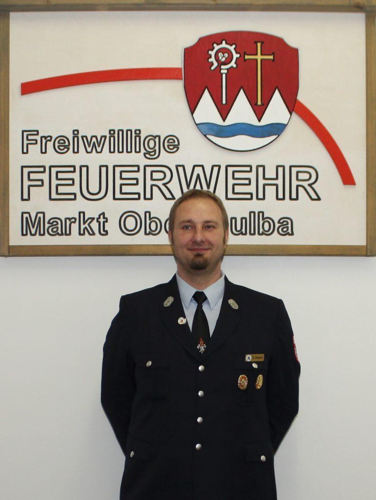 Vertrauensmann - Feuerwehr Oberthulba - Thomas Gessner